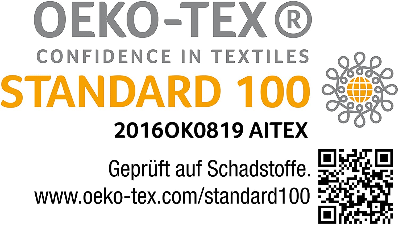 ECO-TEX Standard torchons de Cuisine Professionnels en 100/% Coton Hometex Premium Textiles Lot de 10 torchons qualit/é sup/érieure Rouge-Blanc, 45 x 90 cm