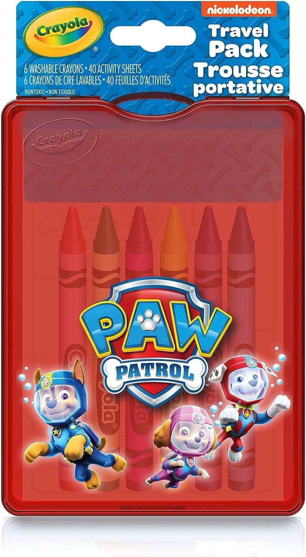 Crayola Paw Patrol Travel Pack: Amazon.es: Juguetes y juegos