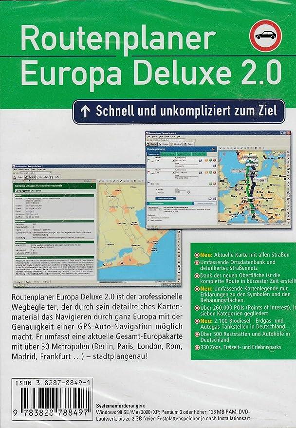 routenberechnung europa