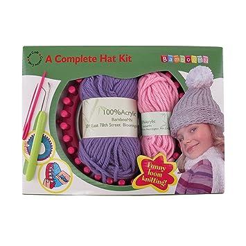 Amazon Loom Knitting Pattern Kit For Beginners Hat Set