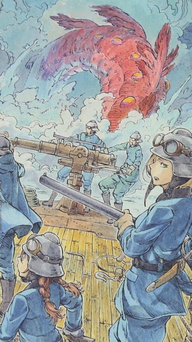 空挺ドラゴンズ タキタ,ヴァナベル(ヴァニー) iPhoneSE/5s/5c/5(640×1136)壁紙画像