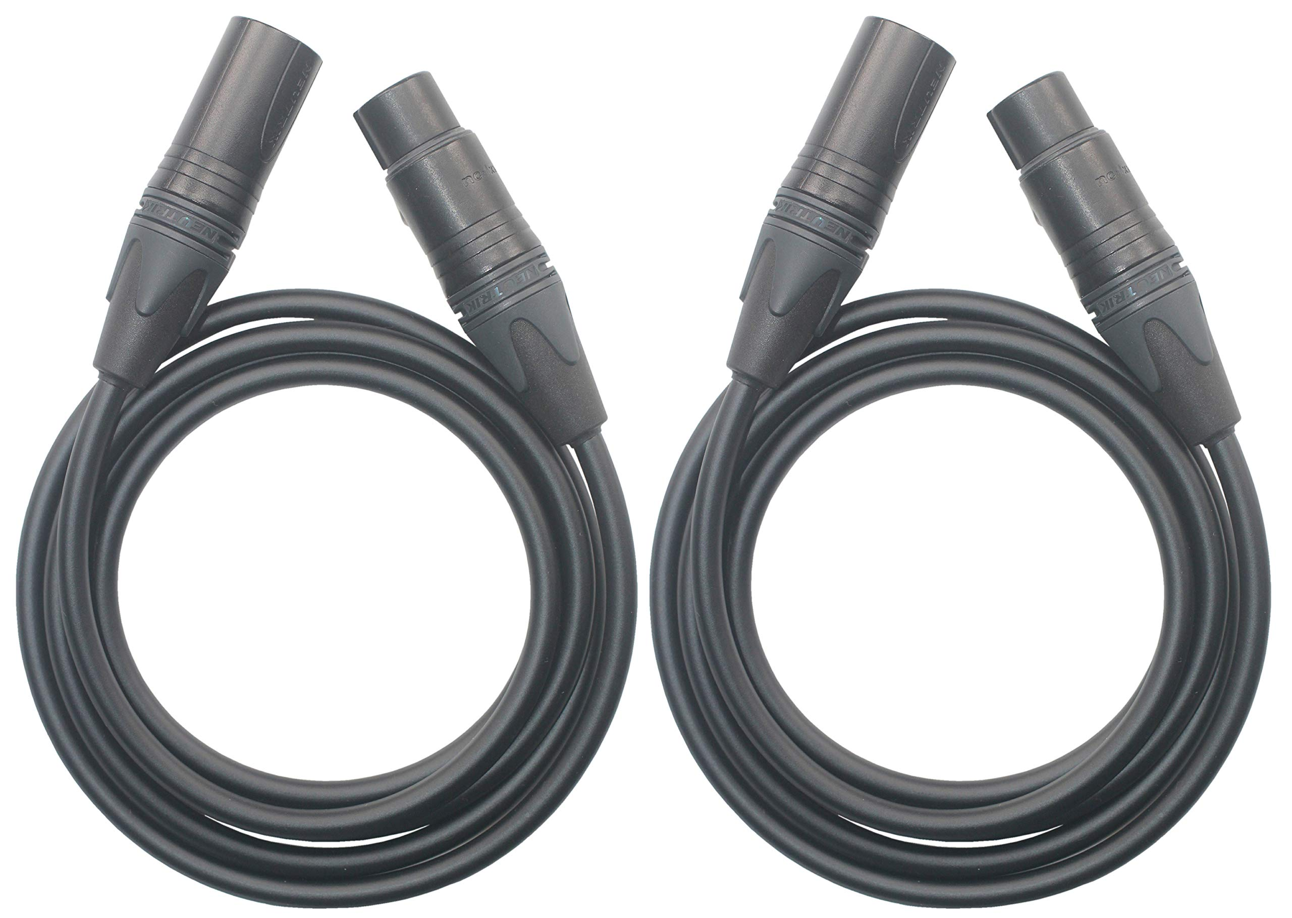 KK Cable S-AV XLR Cable 3 Pin 2xlr Male to Female Microphone Audio Cable, Balanced XLR Audio Cable. S-AV (4.9ft (1.5M))