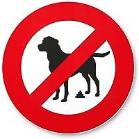 No Perros WC/No Perros inodoro Prohibido Perros kacken–cartel