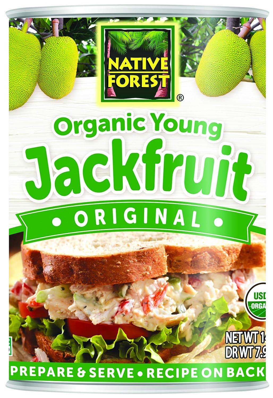 Native Forest Organic Jackfruit, Vegan Meatless Alternative, 14 Ounce Cans (Pack of 6)