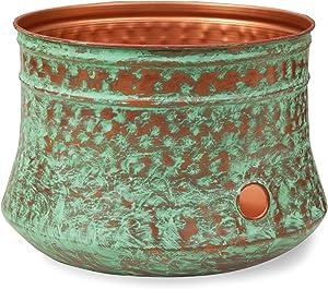 Liberty Garden Products 1917-G Hose Pot, Patina