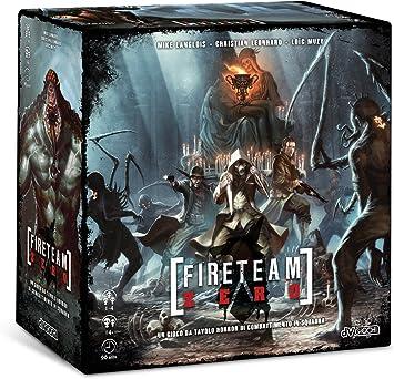 Magic Store Fireteam Zero 70840 – Juego de Mesa de Miedo y Combate por Equipos (edición Italiana, Idioma español no garantizado): Amazon.es: Juguetes y juegos