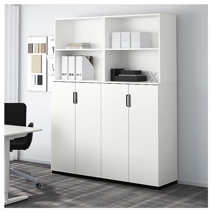 IKEA GALANT - Combinación almacenaje con puertas blancas: Amazon.es: Hogar