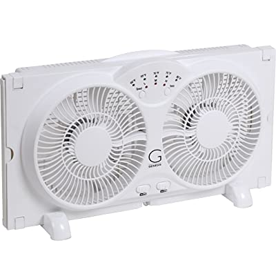 Genesis Twin Window Fan