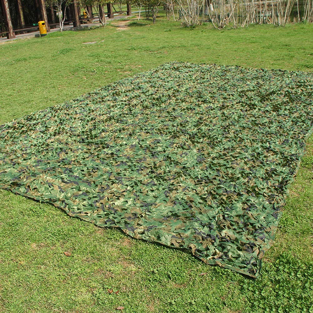 GDMING Shading Net Outdoor Activity Shootout Thin and Light Durable Multipurpose Oxford Cloth, 38 Sizes (Color : Green, Size : 6x12m) by GDMING-Sunshading Net (Image #3)
