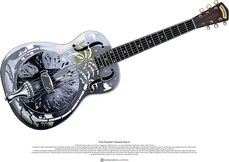 George Morgan Illustration Estilo Nacional O resonador Guitarra ...