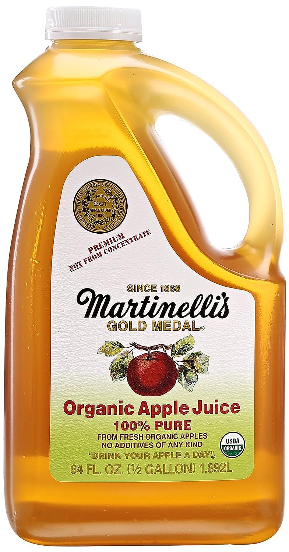 Martinelli's Organic Apple Juice, 64 oz