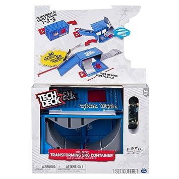 Tech Deck Contenedor Transformable (BIZAK 61929877)