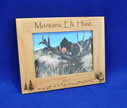 Hunting Hunting Gift First Hunt Gift.Gift For Hunting Hunting Frame Elk Hunter Gift Hunting Picture Frame Gift For Hunter Elk Hunting