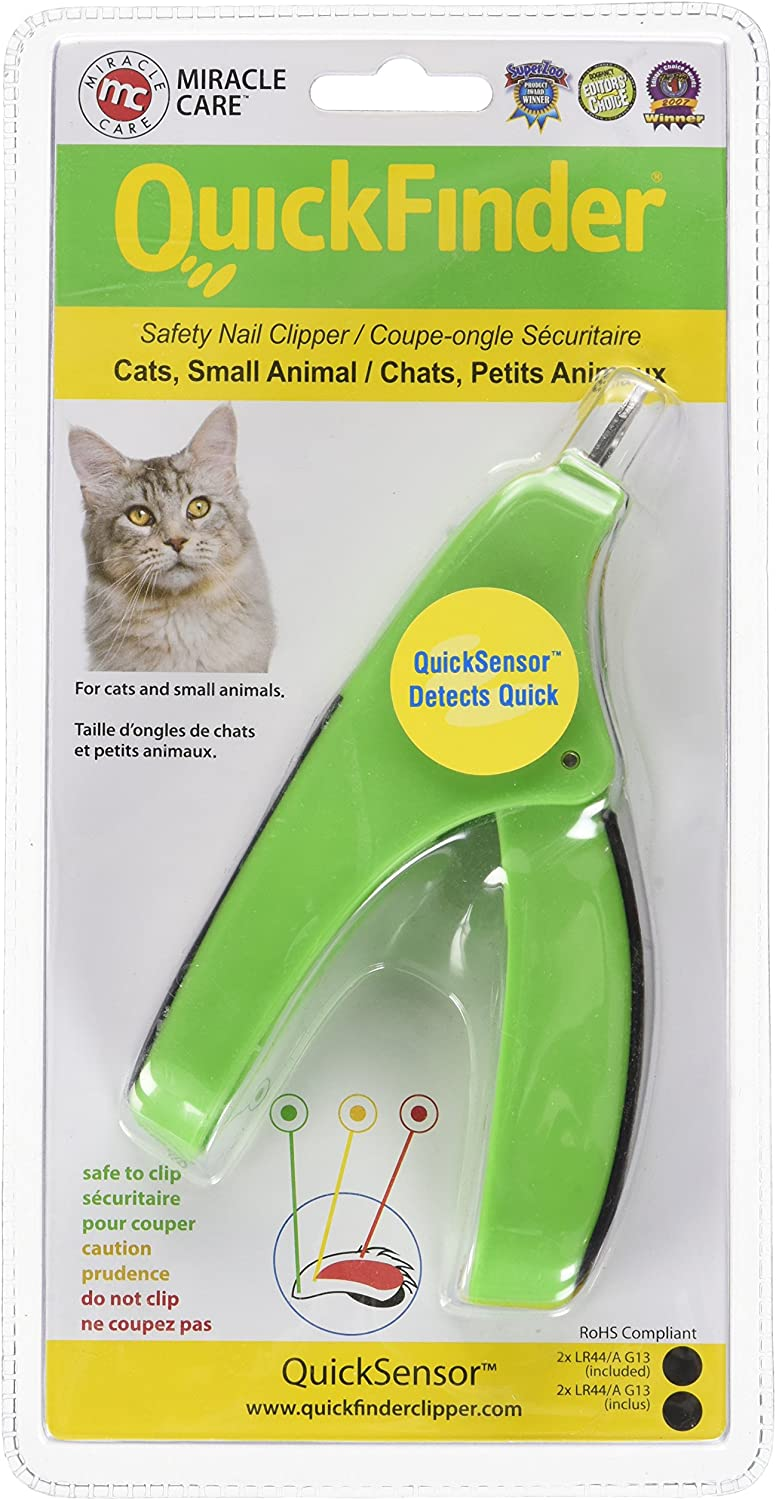 Miracle Coat QuickFinder for Cats and Small Animals