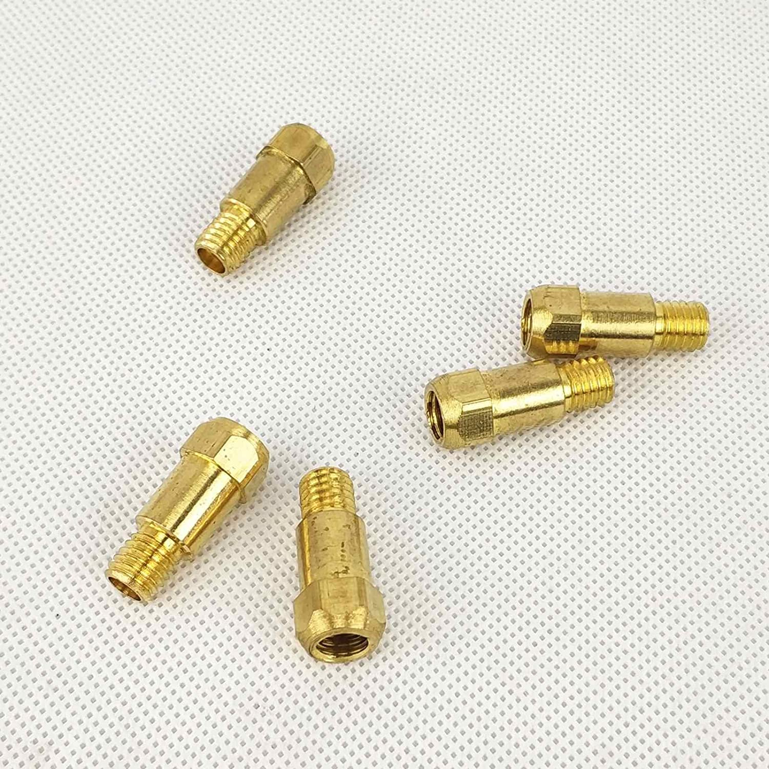 15AK 24KD 36KD Contact Tips Nozzles Holders Swan Neck MIG Torch//Gun Consumables for Euro Style MIG MAG Welding Torches 36KD 0.8 Tip 10pcs ECU