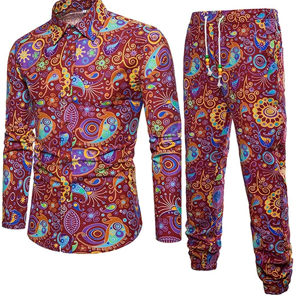 Mounter - Camisa Casual - Escotado por detrás - Animal Print - con Botones - Manga Corta - para Hombre Rojo Rosso XXX-Large: Amazon.es: Ropa y accesorios