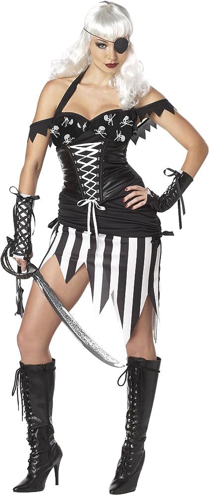 Disfraz de pirata Reina disfraz para despedida de soltera Fancy ...