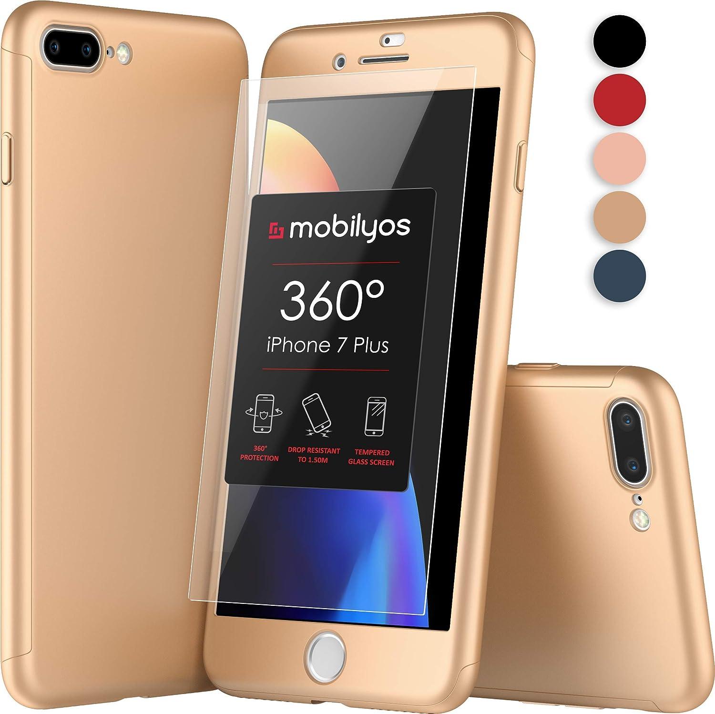 Mobilyos Funda iPhone 7 Plus 360 Grados Completa: Amazon.es ...