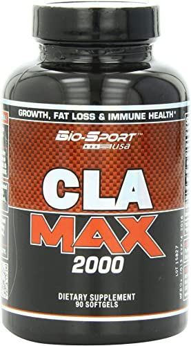 Biosport USA Cla Max 2000 Weight Loss Capsules, 90 Count