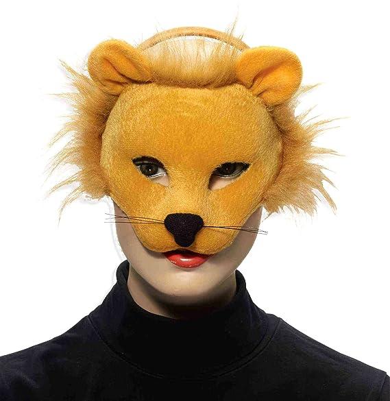 Forum Novelties Men's Plush Lion Mask, One Size