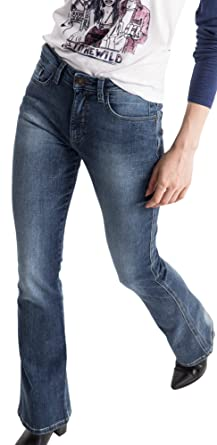 Amber, Jean Coupe Skinny Femme, Blau (9383 Premium Medium Blue Wash 9383), 35W x 31L (Taille du Fabricant: 46/31)His