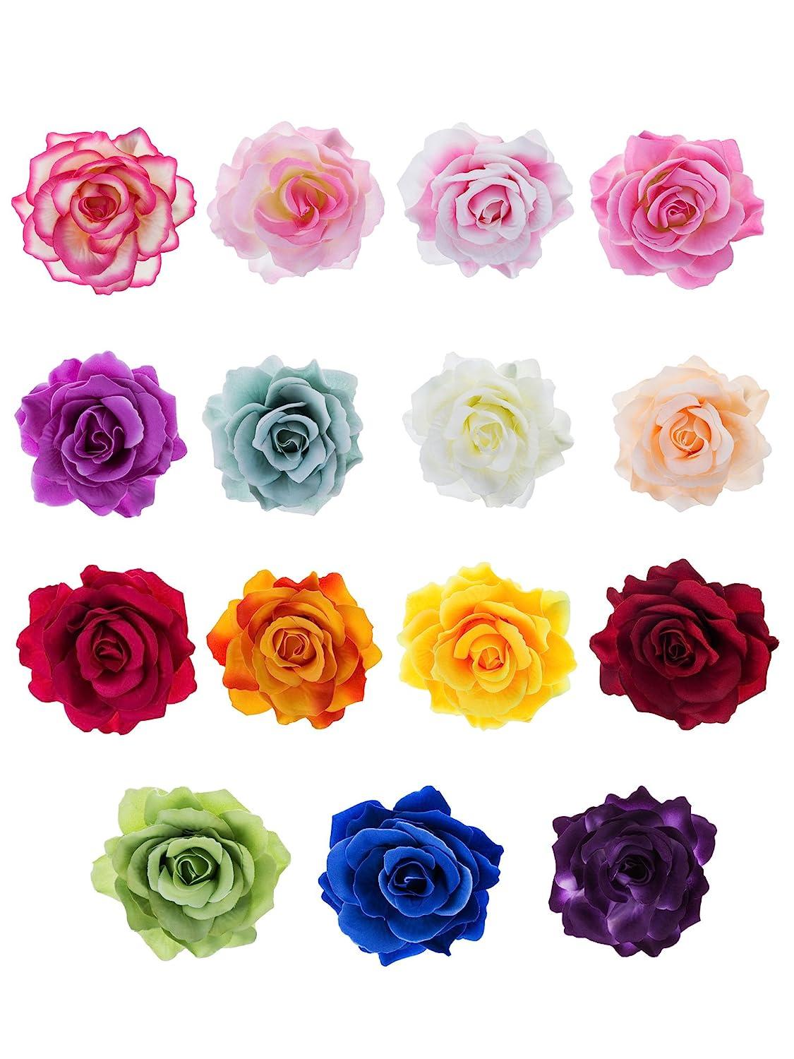 Flower Barrette Boho Flower Hair Clip Boho Flower Pin Flower Hair Clip Hair Flower Flower Hair Pin Flower Pin Flower Broach
