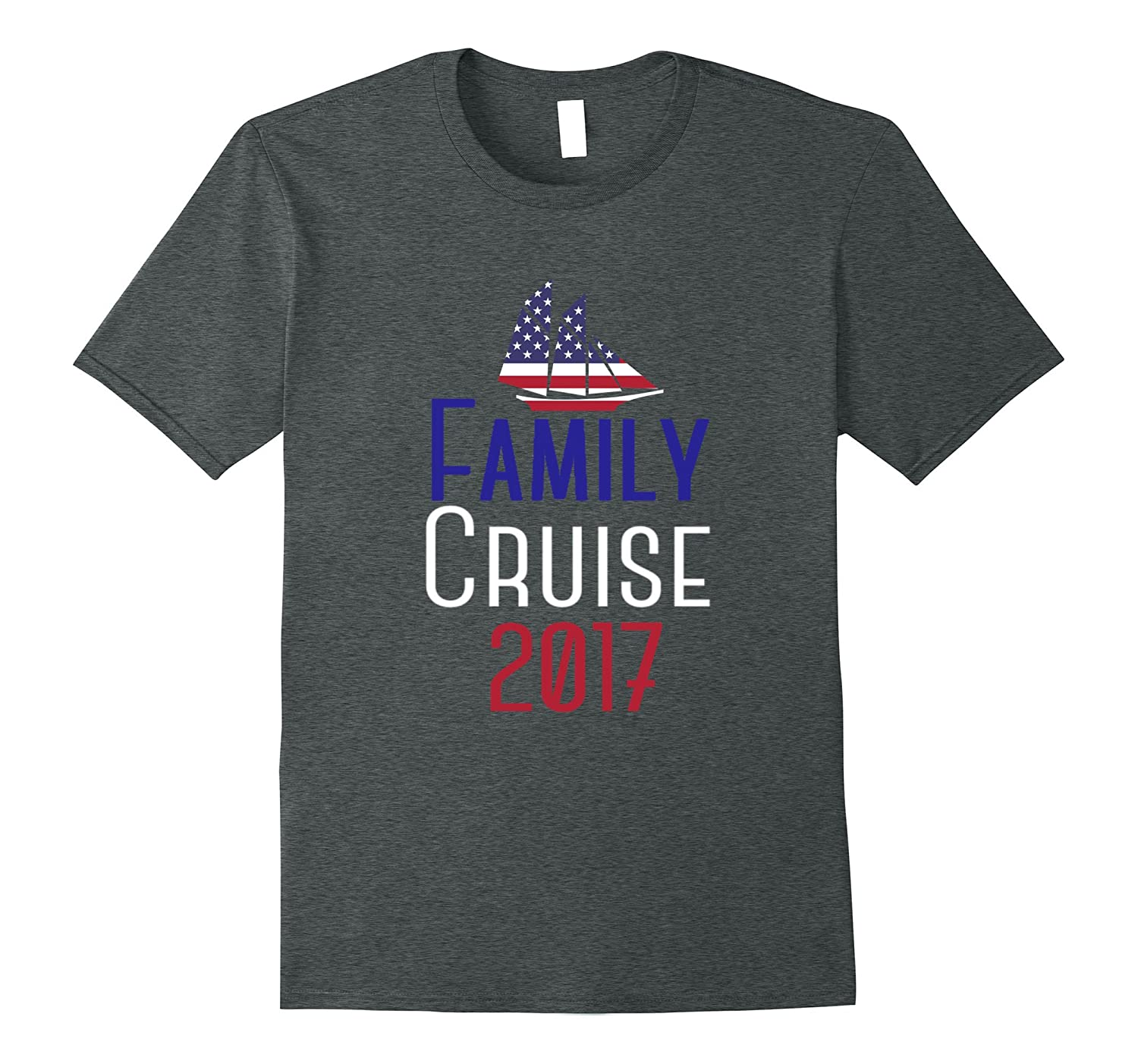 Family Cruise 2017 summer family vacation funny t-shirt