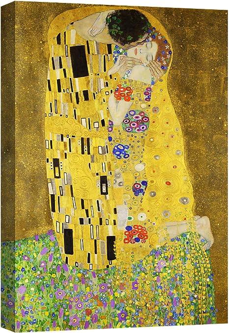 canvashop Quadri Moderni Soggiorno Il Bacio di Klimt cm ...