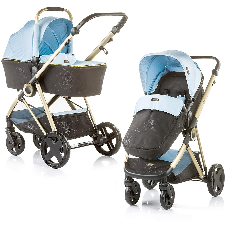 Duo Cochecito y carrito Chipolino Sensi Azul: Amazon.es: Bebé