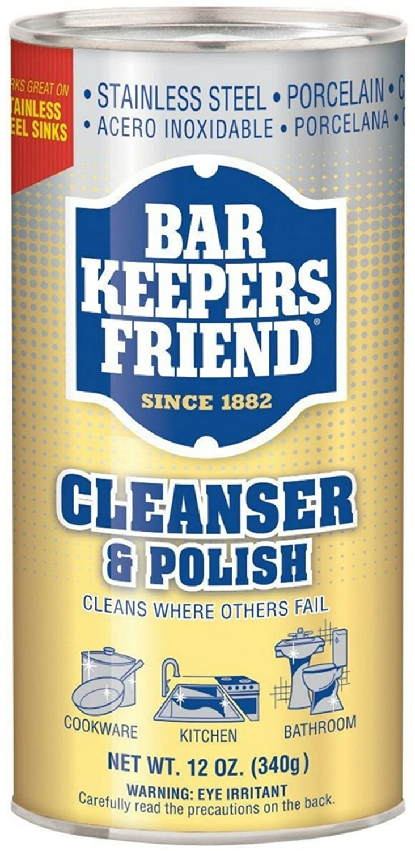 Amazon.com: Bar Keepers Friend Powdered Cleanser & Polish 12-Ounces ...