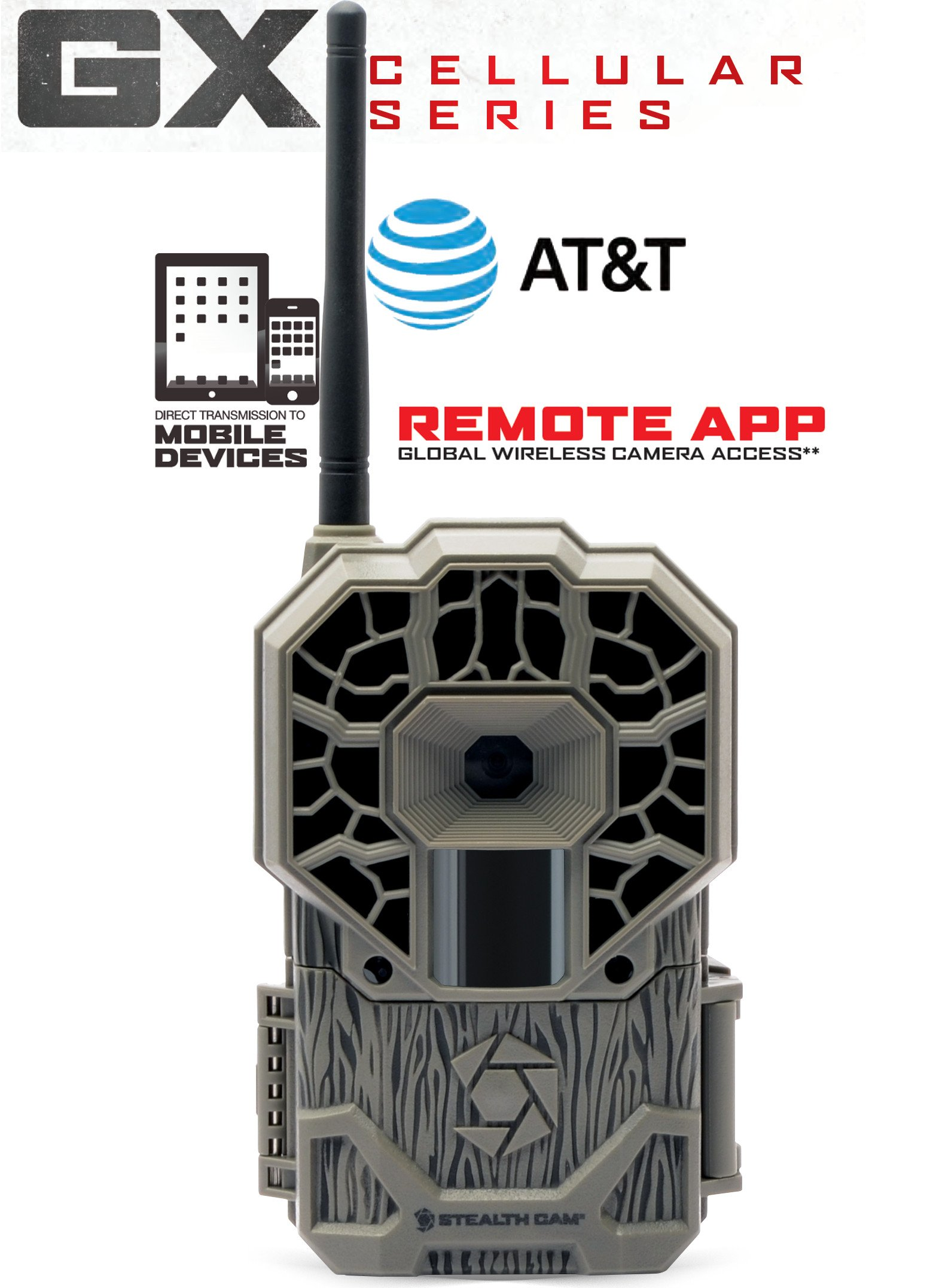 Stealth Cam AT&T Wireless STC-GXATW Trail Cam 22Megapixel HD Video by Stealth Cam