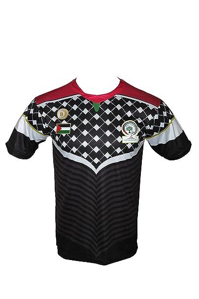 Cadenza Nero Palestina Calcio it SAmazon Maglietta Di Cz227 k0wO8nP