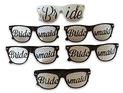DJD - Gafas de sol para fiesta de boda, plástico, con ...