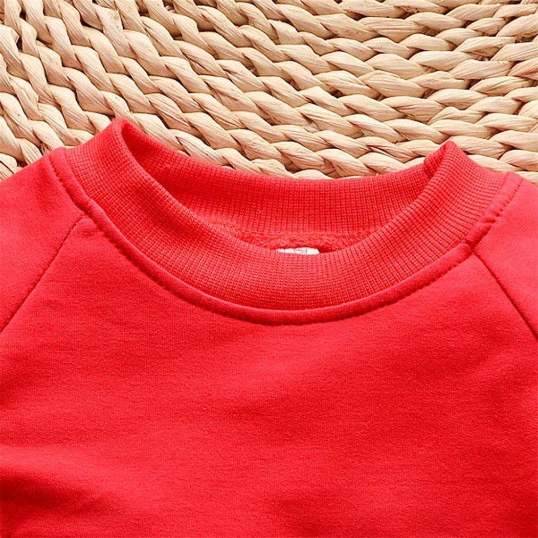 Hosen Kappe Outfits Kinder Pullover Set Kleinkind Btruely Unisex Kinderbekleidung Baby Clothes Set Winter Langarm Spielanzug 100, Licht Blau