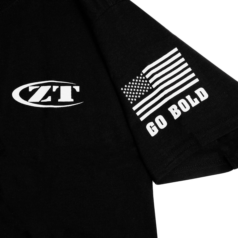 Amazon.com   Zero Tolerance T-Shirt Black Large   Sports   Outdoors f7fbcaf6ec5c