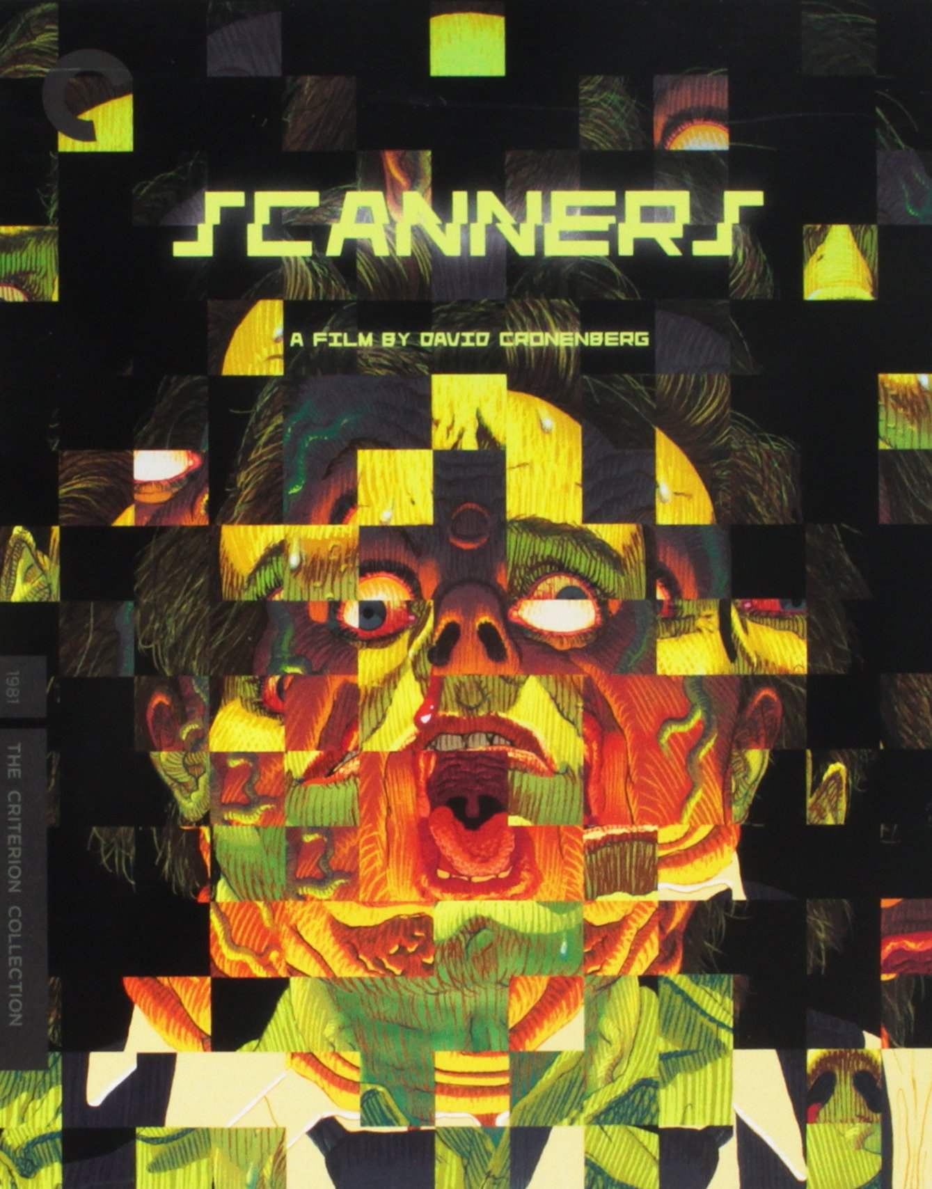 Blu-ray : Scanners (criterion Collection) (Blu-ray)