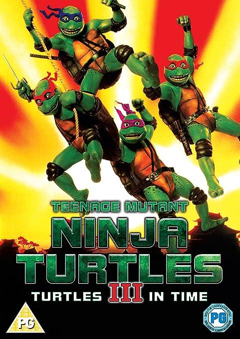 Teenage Mutant Ninja Turtles - III - Turtles In Time DVD ...