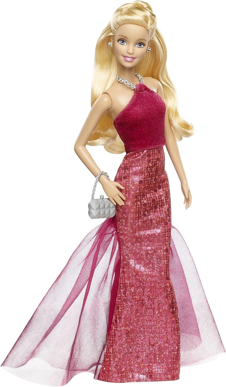 Pink Purple Sparkle Halter Barbie Dress
