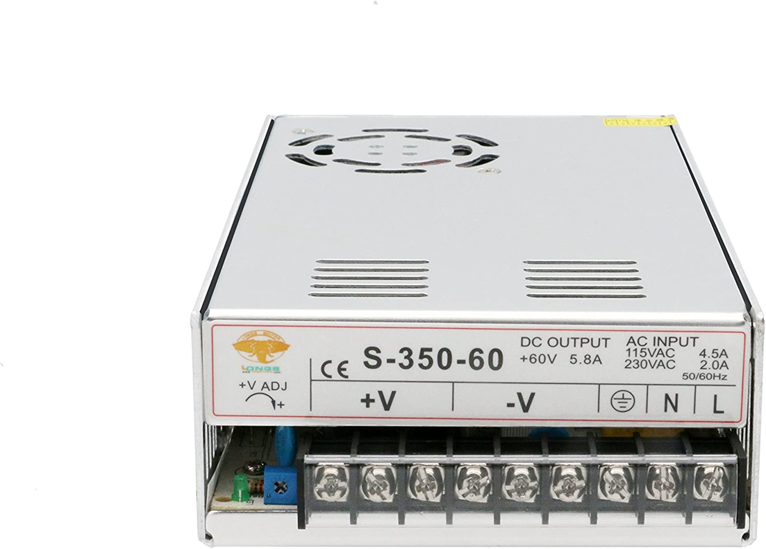 FAST !1PC DC Power supply 350w 60V SWITCHING 0-5.8A  for nema34 stepper motor