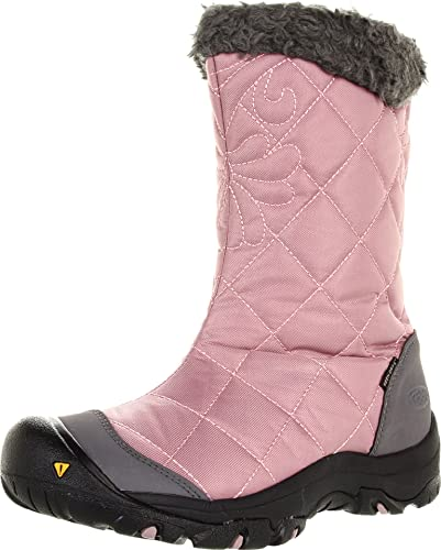 KEEN Women's Burlington Low Boot,Woodrose/Gargoyle,7 ...