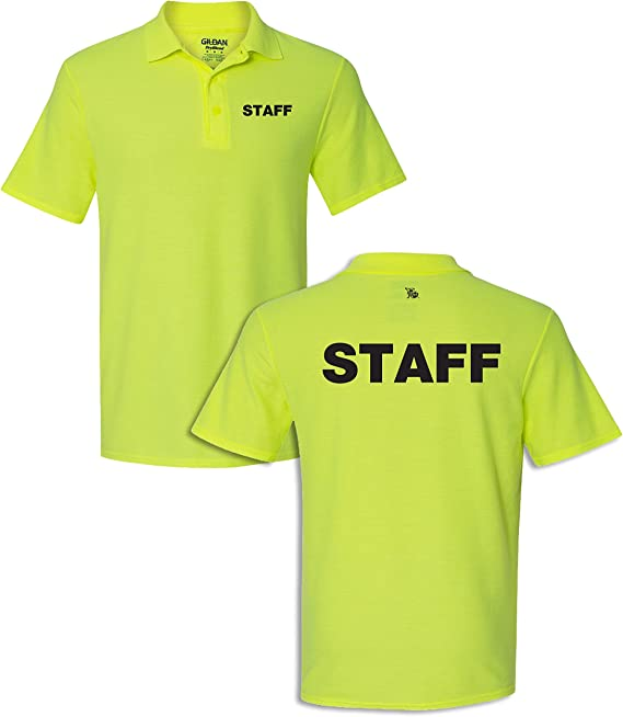 Peerless Embroidery Company Staff Sport Polo Dry Blend Silkscreen Front /& Back 13553