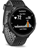 Garmin 010-03717-55 Forerunner 235 with Wrist Based Heart Rate Monitoring, Black/Gray