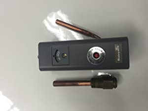"""Honeywell L4006E1000 with 1/2"""" Well Manual Reset High Limit Control"""