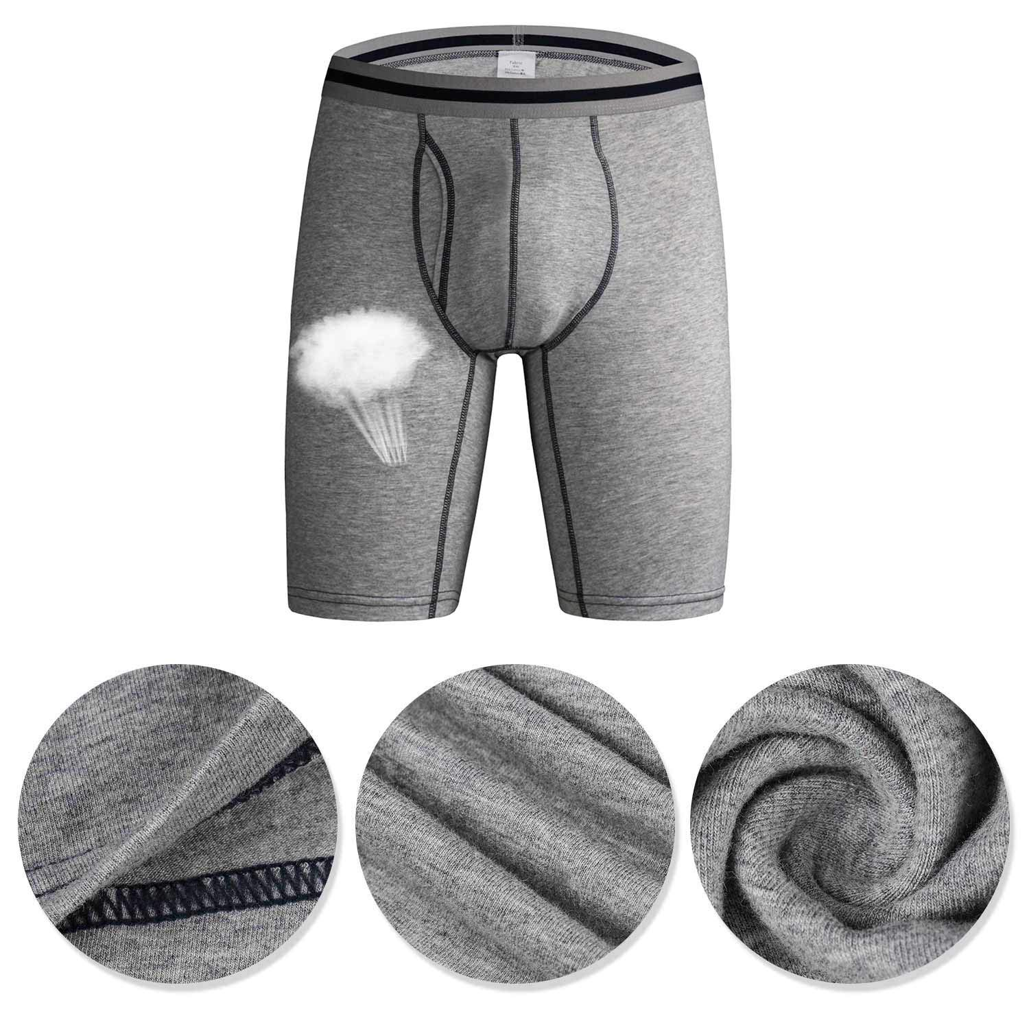Tuopuda Mens Boxers Briefs Micro Modal Stretch Shorts Trunks Sports Underpants Pack of 3 /& 4