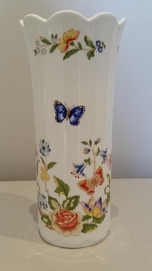 Aynsley China Cottage Garden 21cm Vase Made In England Amazon