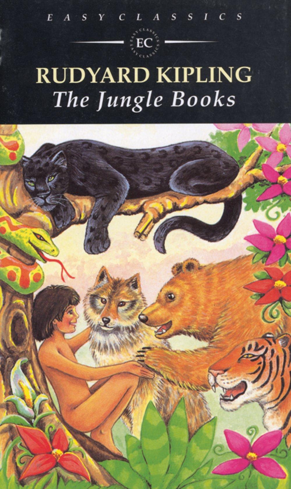 Easy Readers (Englisch): The Jungle Books: Englische Lektüre für das 3. Lernjahr