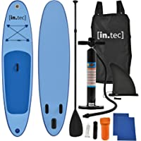 [in.tec]® SUP Paddle Board Surfboard Stand-Up Board Inflatable Board 305 x 71 x 10cm