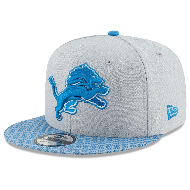Amazon.com   New Era Detroit Lions 9FIFTY NFL 2017 Sideline Snapback Cap  (One-Size )   Sports   Outdoors a653e790e1b7