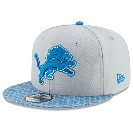 c551378523c Image Unavailable. Image not available for. Color  New Era Detroit Lions  9FIFTY NFL 2017 Sideline Snapback Cap ...