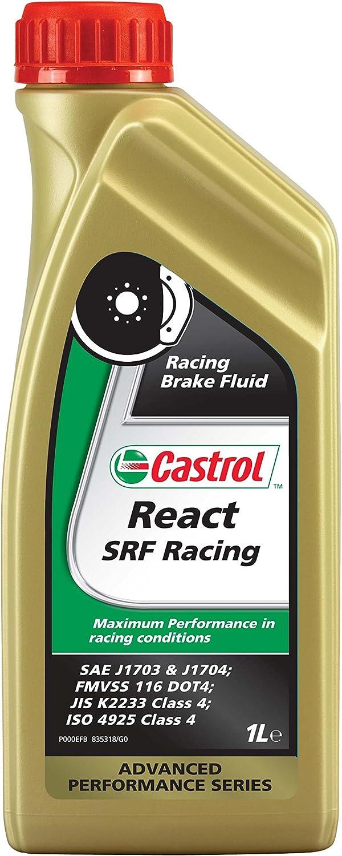 Castrol 15039b React Srf Racing Hochleistungsbremsflüssigkeit 1l Auto